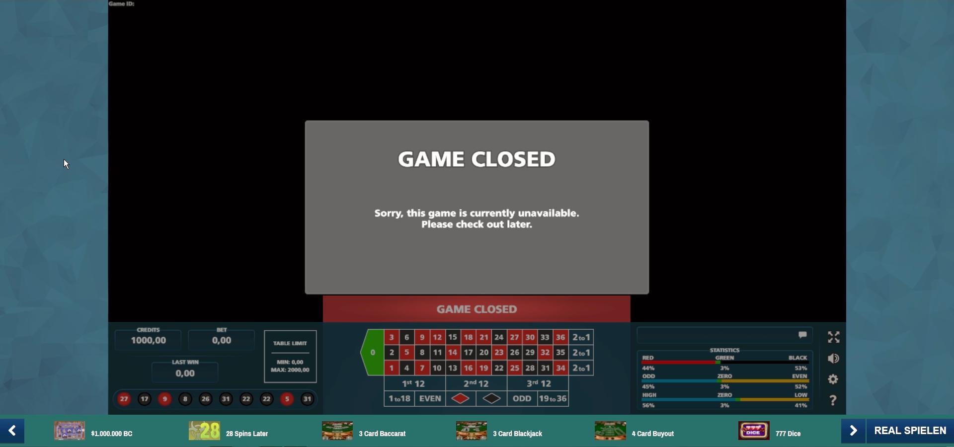 Technische Probleme im Online-Casino Portomaso ? - Online-Casinos ...