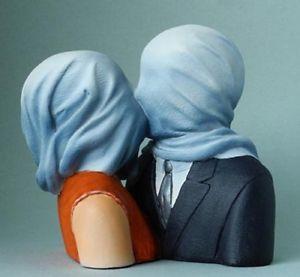 Rene Magritte Liebesküsse von Liebenden.jpg