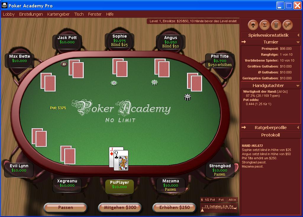 Poker academy